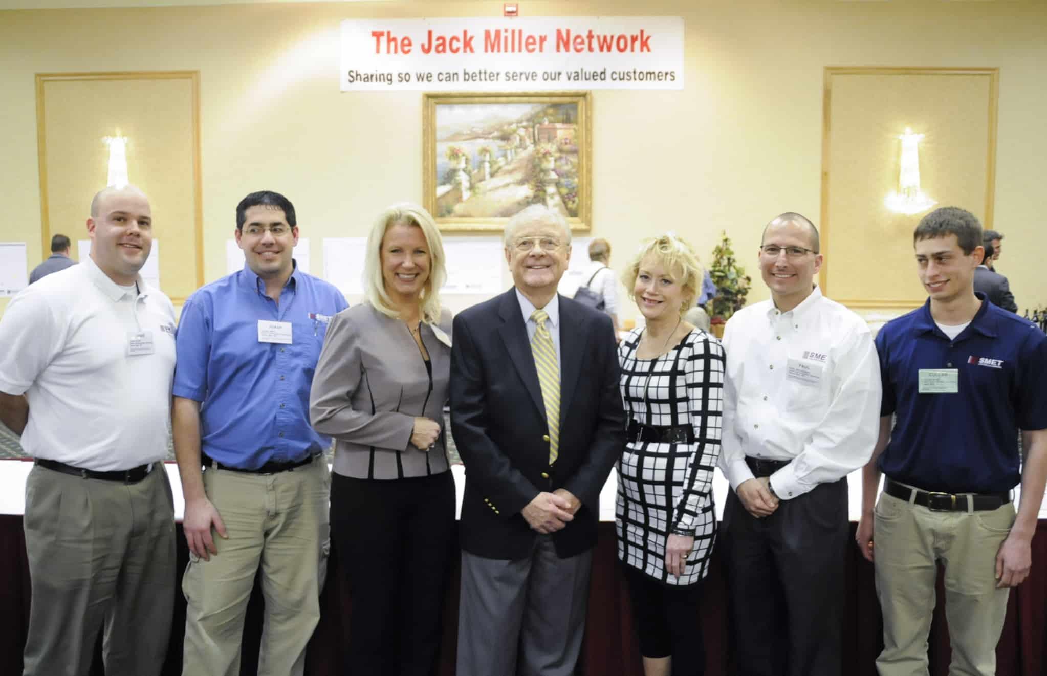 The Smet Team from left to right: Jamie Blom, Joash Smits, (Jack Miller Center), Karen Klevesahl, Paul Belschner & Cullan Smet