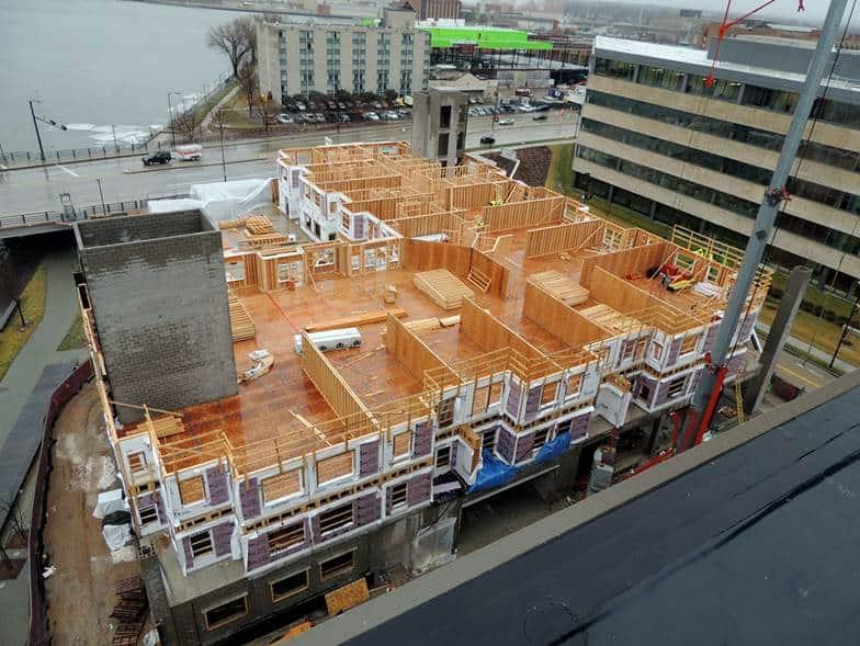 CityCeck Landing Construction